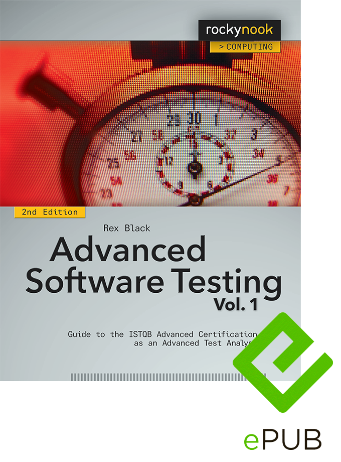 Advanced Software Testing - Vol. 1, 2nd Edition (ePUB E-Book)