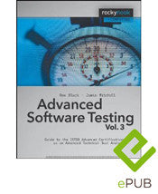 Advanced Software Testing - Vol. 3, 2nd Edition (ePUB E-Book)
