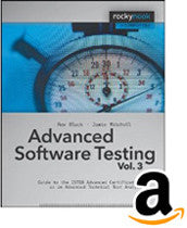 Advanced Software Testing - Vol. 3, 2nd Edition (Kindle E-Book)