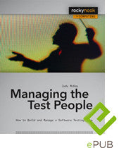Managing the Test People (ePUB E-Book)