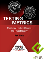 Testing Metrics: Measuring Product, Process and Project Quality (ePUB E-Book)