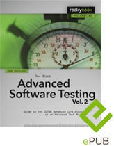 Advanced Software Testing - Vol. 2, 2nd Edition (ePUB E-Book)