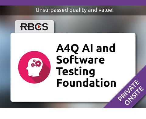 AI and Software Testing Foundation Training