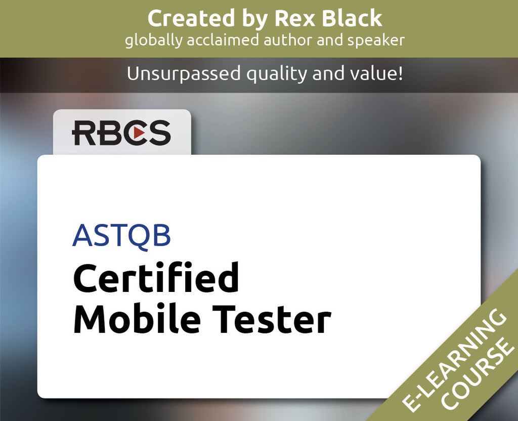ASTQB Certified Mobile Tester E-Learning