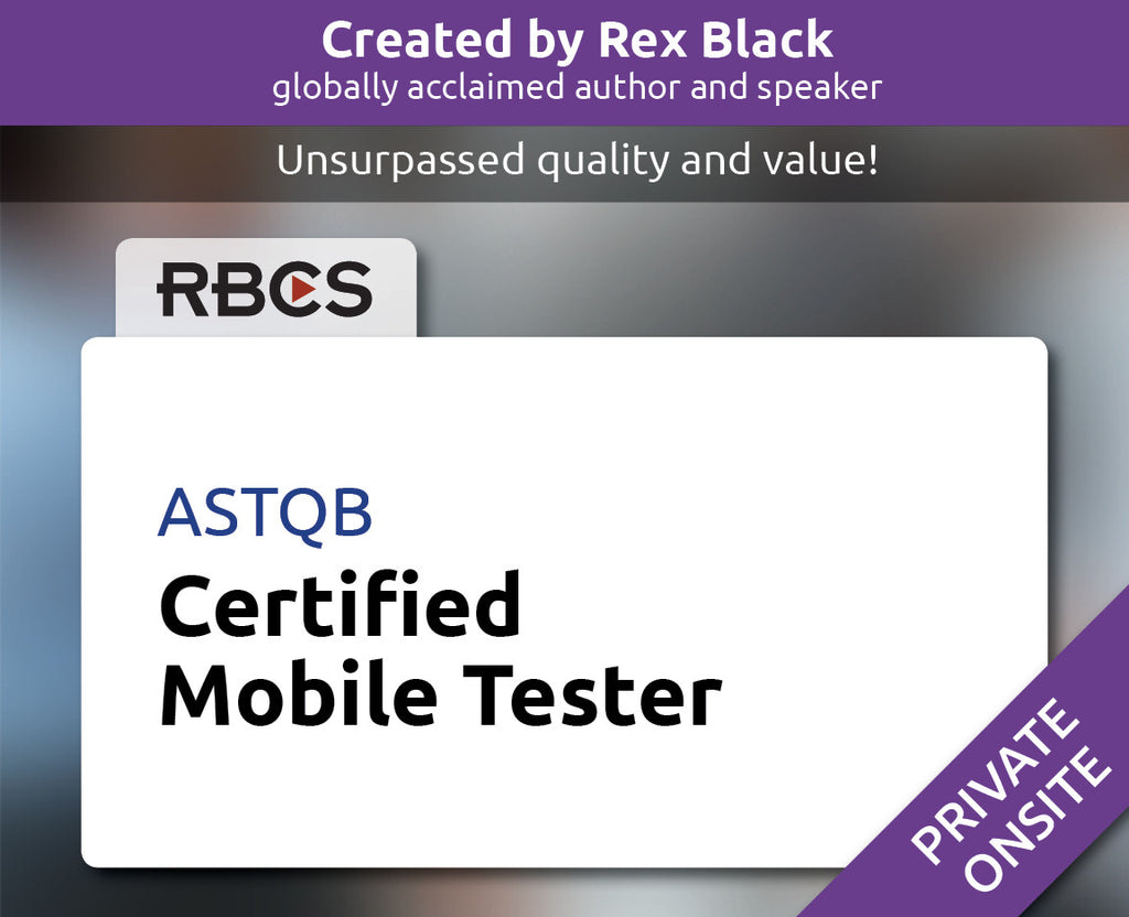 ASTQB Certified Mobile Tester