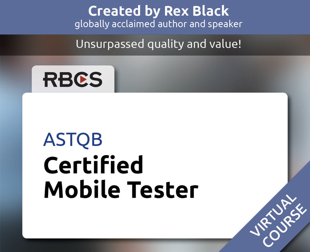 ASTQB Virtual Certified Mobile Tester