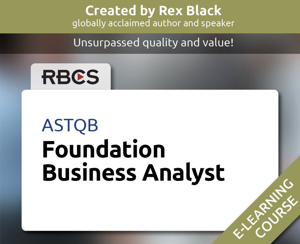 ASTQB Foundation Business Analyst E-learning