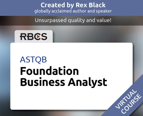 ASTQB Virtual Foundation Business Analyst Training