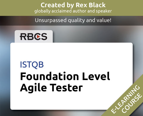 ISTQB Foundation Level Agile Tester E-Learning