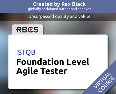 ISTQB Virtual Foundation Level Agile Tester