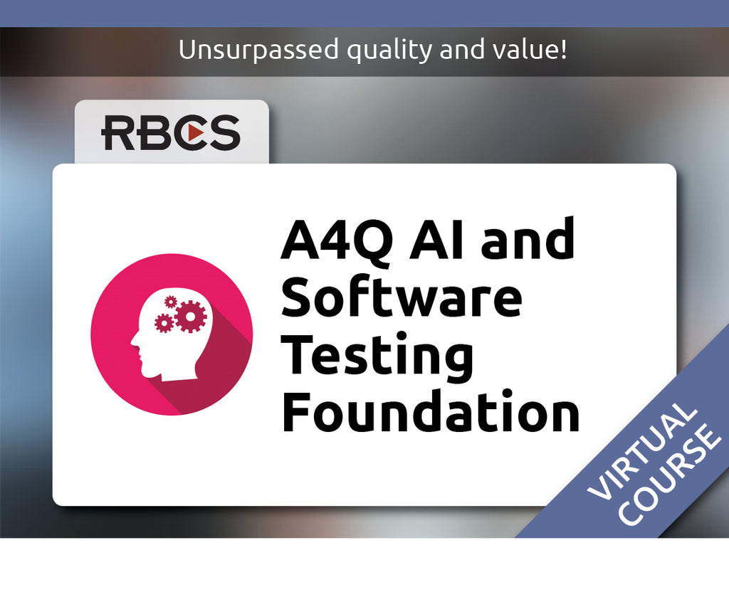 Virtual AI and Software Tester Foundation Training