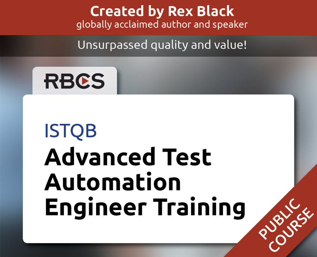 ISTQB Advanced Test Automation Engineer Training