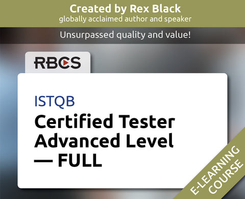ISTQB Certified Tester Advanced Level – FULL
