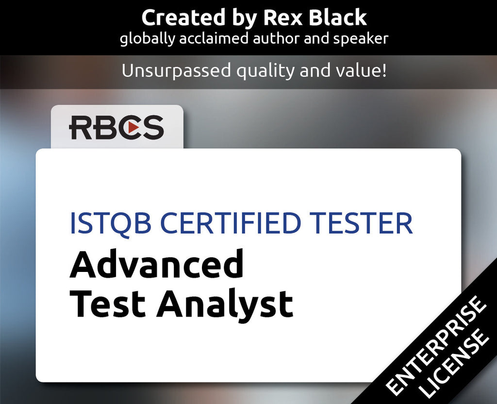 ISTQB Certified Tester Advanced Test Analyst