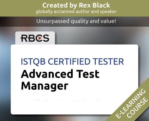 ISTQB Certified Tester Advanced Test Manager E-Learning