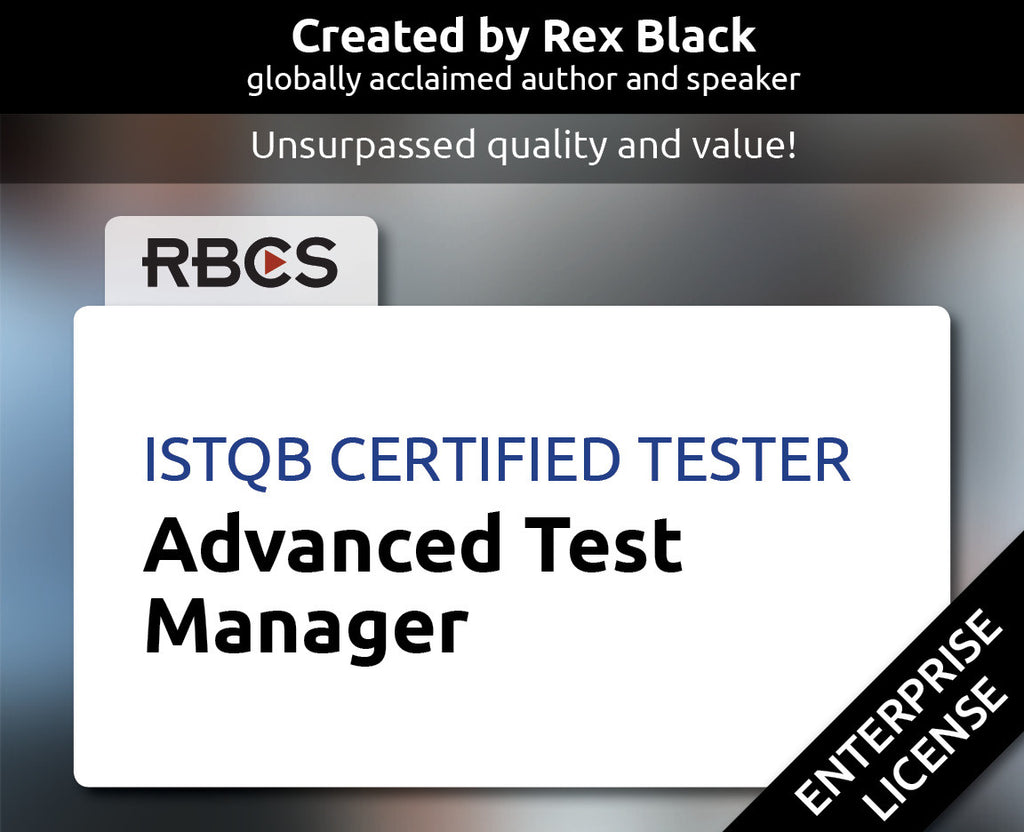 ISTQB Certified Tester Advanced Test Manager
