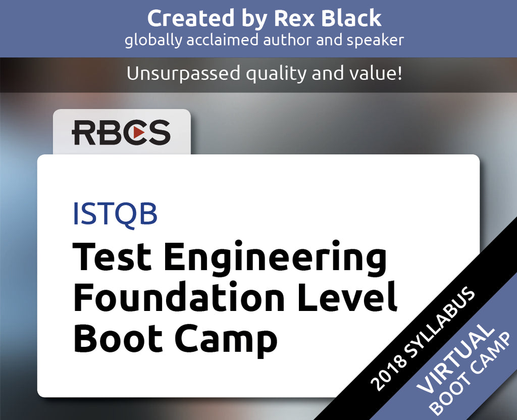 ISTQB Virtual Test Engineering Foundation Level Boot Camp