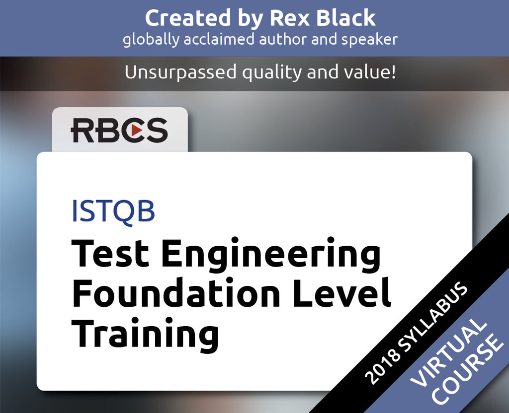 ISTQB Virtual Test Engineering Foundation Level Training