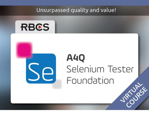 Virtual Selenium Tester Foundation Training