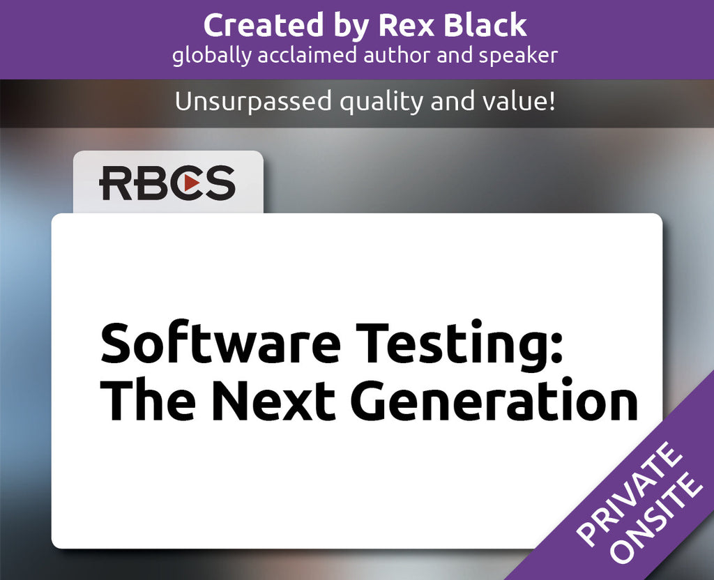Software Testing: The Next Generation Course