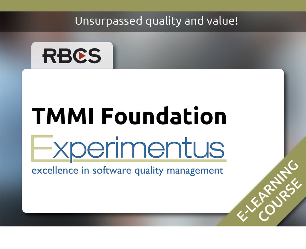 TMMi Foundation E-Learning