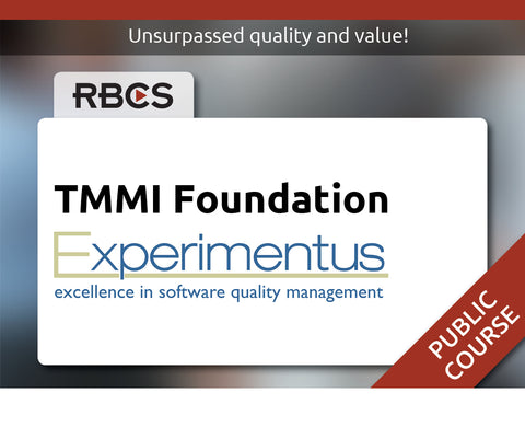 TMMI Foundation Training