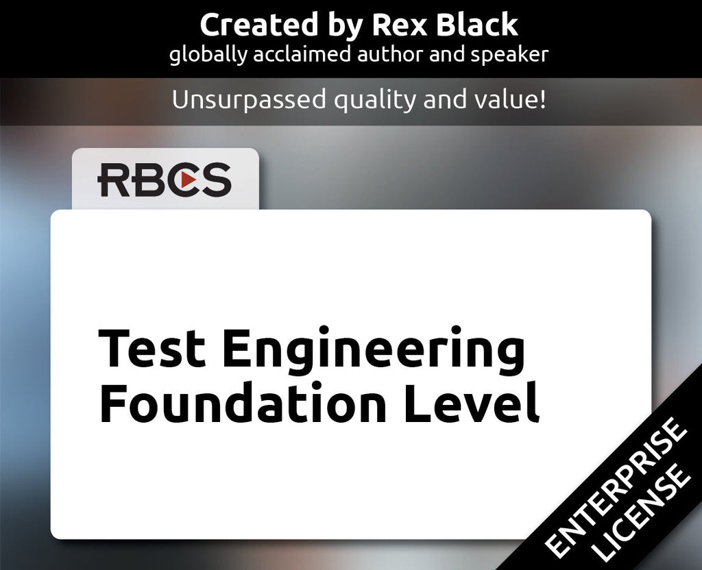 ISTQB Test Engineering Foundation Level