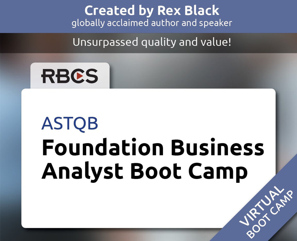 Virtual Foundation Business Analyst Boot Camp