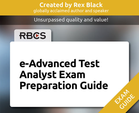 e-Advanced Test Analyst Exam Preparation Guide