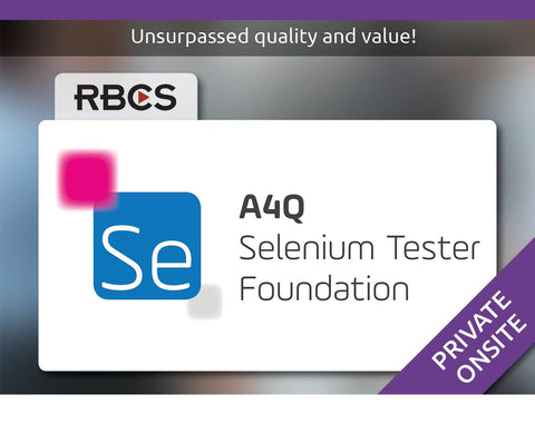 Selenium Tester Foundation Training