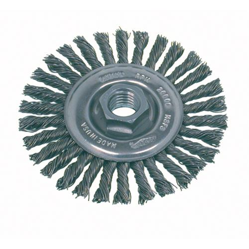 Knot Wire Wheel Brushes - High Speed Steel Small Grinder, Stringer Bead