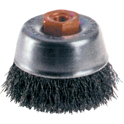 Crimped Wire Cup Brushes - High Speed Small Grinder