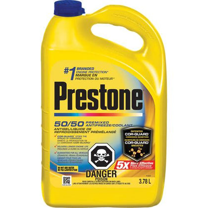50/50 Prediluted Engine Antifreeze/Coolant