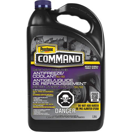 Command® Heavy-Duty ESI 50/50 Prediluted Antifreeze/Coolant