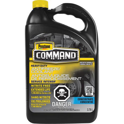 Command® Heavy-Duty Nitrate-Free Extended Life Concentrate Antifreeze/Coolant