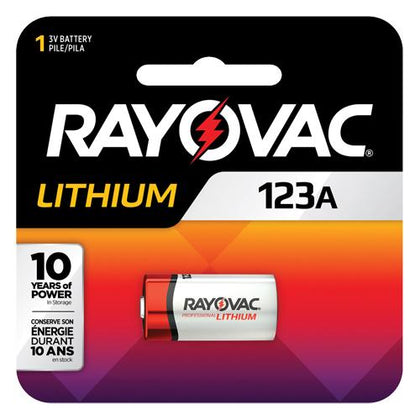 Rayovac® Lithium 123A Battery