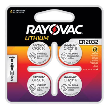 CR2032 Lithium Coin Cell Batteries