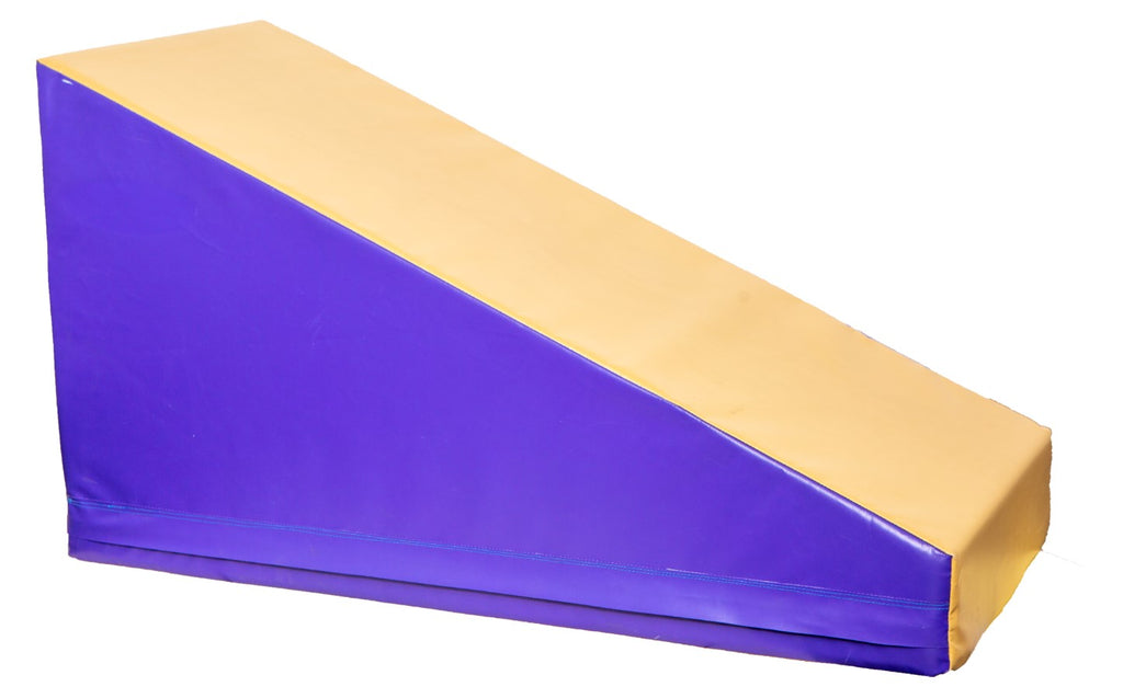 "Purple/Tan Incline 52"" x 24"" x 27"" x 6"""