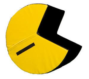 "roll-over Yellow/Black 32"" Diam."