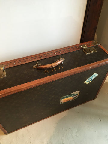 1915 Vintage Louis Vuitton Suitcase