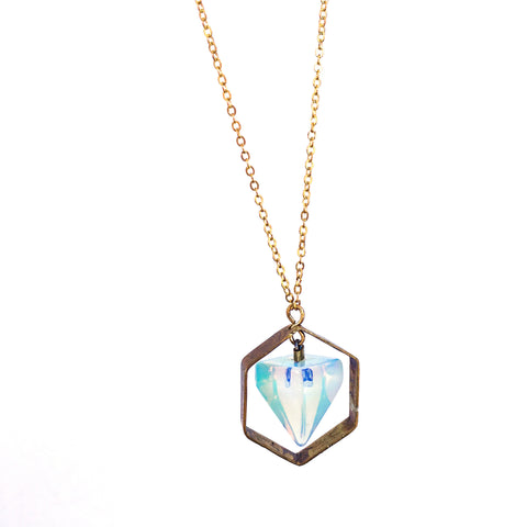 Astral Field Necklace – Opalite