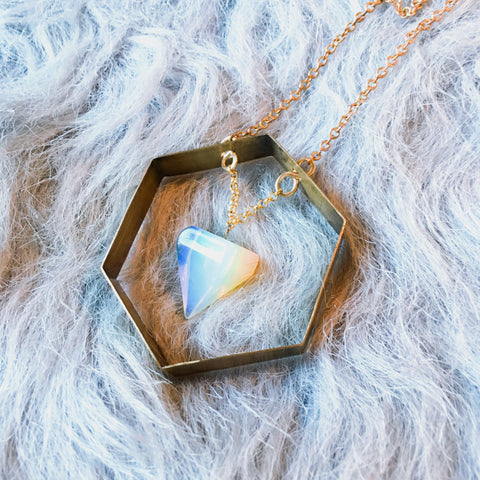 Astral Plane Necklace – Opalite