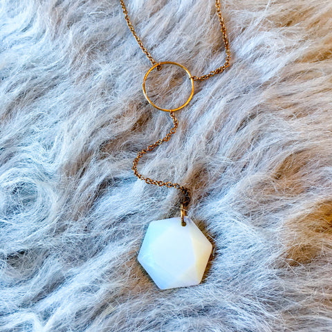 Pulsar Necklace – Opalite