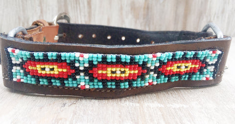 Baja Boot Strap - Watchful Eye Beaded