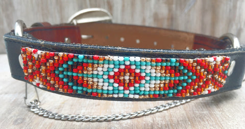 Baja Boot Strap - Beaded Diamanté Pattern