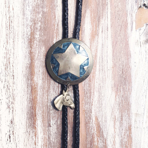 Vintage Bolo Tie - Sheriff's Star