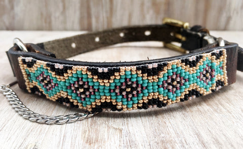 Baja Boot Strap - Beaded Diamond Back