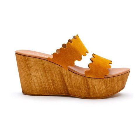 Matisse Charlie Platforms- Yellow
