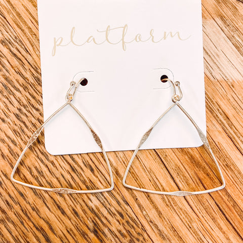 Love Triangle Earrings