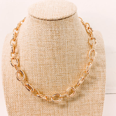 Look Into It Chain Necklace